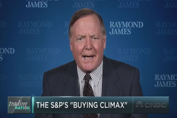 Did stocks just reach a 'buying climax'?