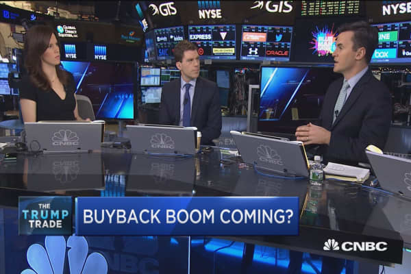 Buyback boom coming?