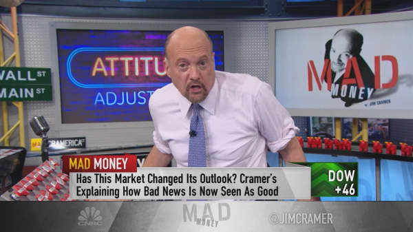 Cramer's new stock market attitude 'give me a rate hike or give me death'