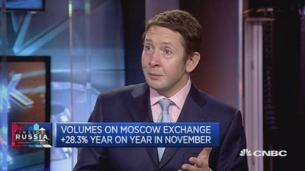 US political changes may lower anti-Russia perceptions: MOEX CFO