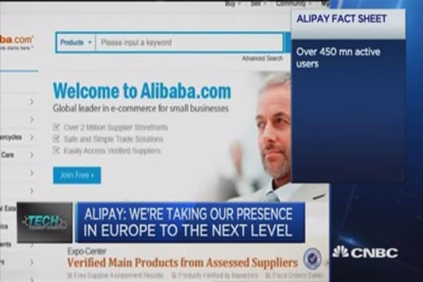 Partnering with banks to drive European expansion: Alipay