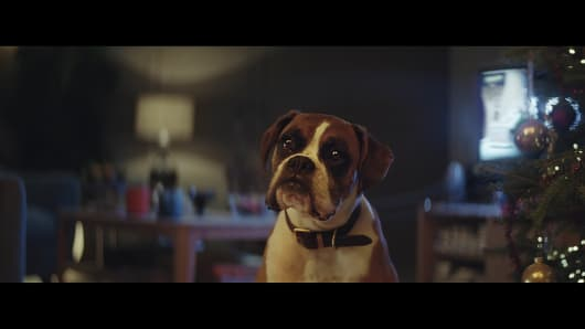 U.K. retailer John Lewis has used animated characters for its Christmas campaigns four times in the past five years.