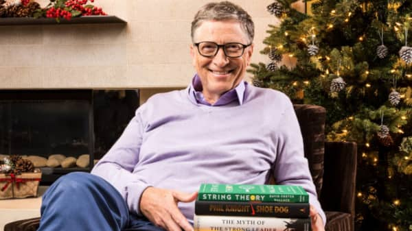 Bill Gates' top five books of 2016