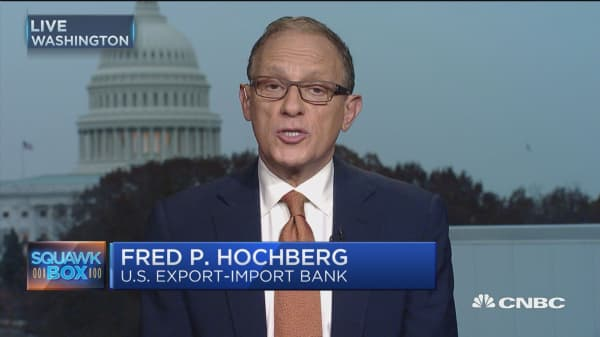 Export-Import bank 'all about jobs': Fred P. Hochberg