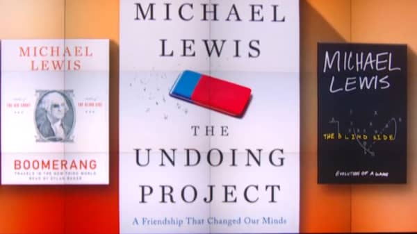Michael Lewis endorses a strategy for getting out of anything you don't want to do