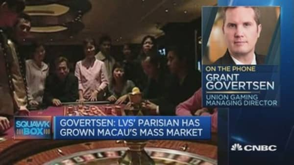 Macau casinos have had a terrific run of late: Expert