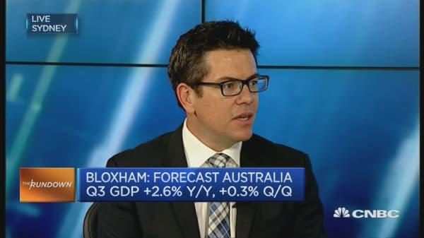 Australia Q3 GDP to be soft: Economist