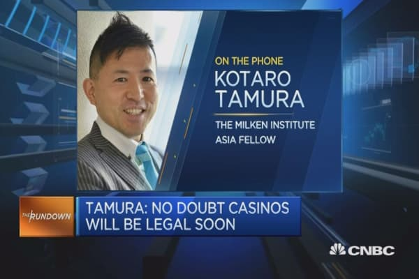 Japan's casino dreams soon to be real?