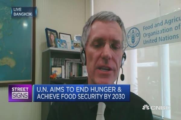 Ending world hunger by 2030