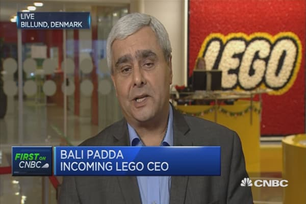 We'll focus on the brick, not protectionism: New Lego CEO