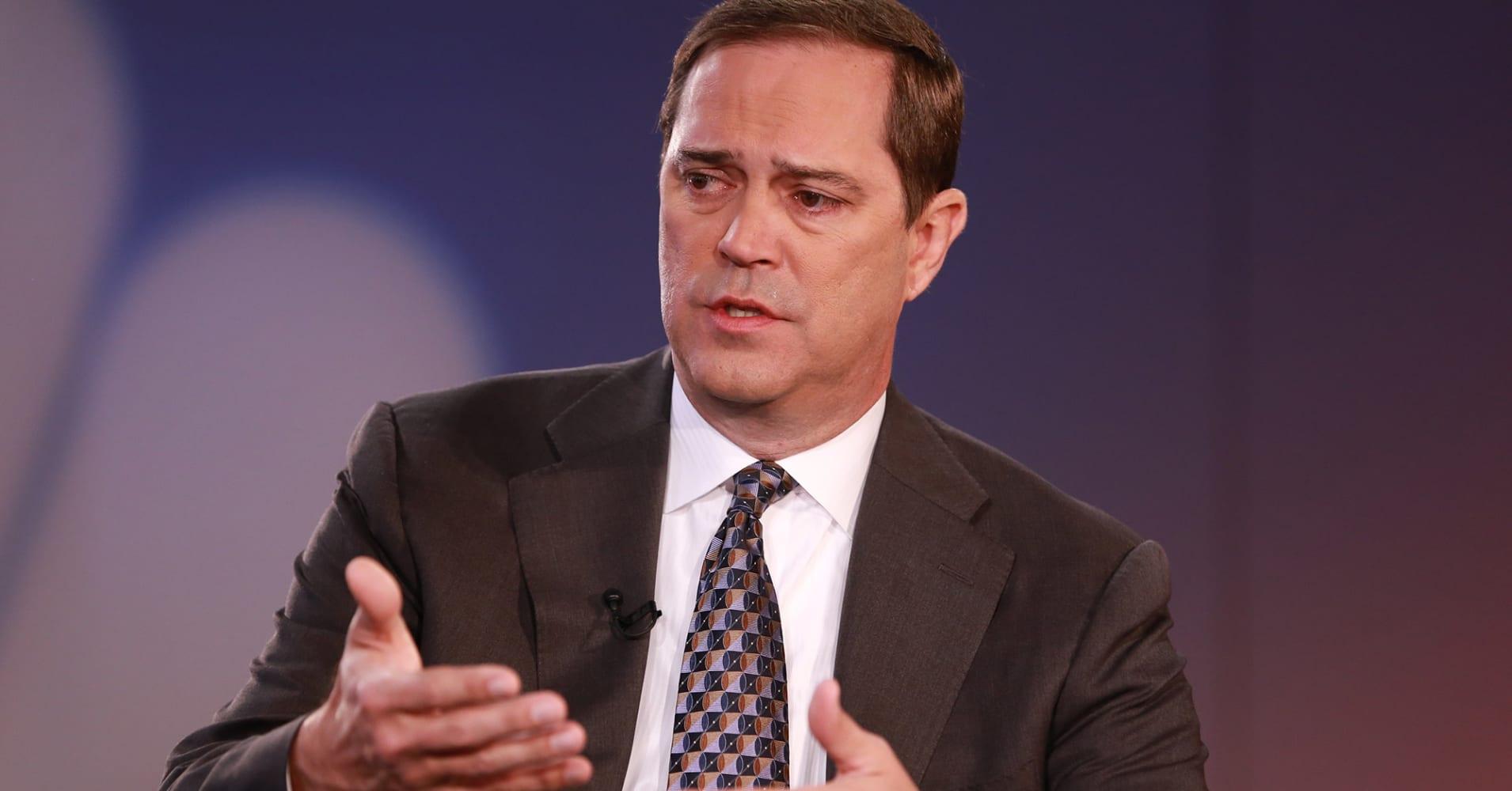 Chuck Robbins, CEO of Cisco.