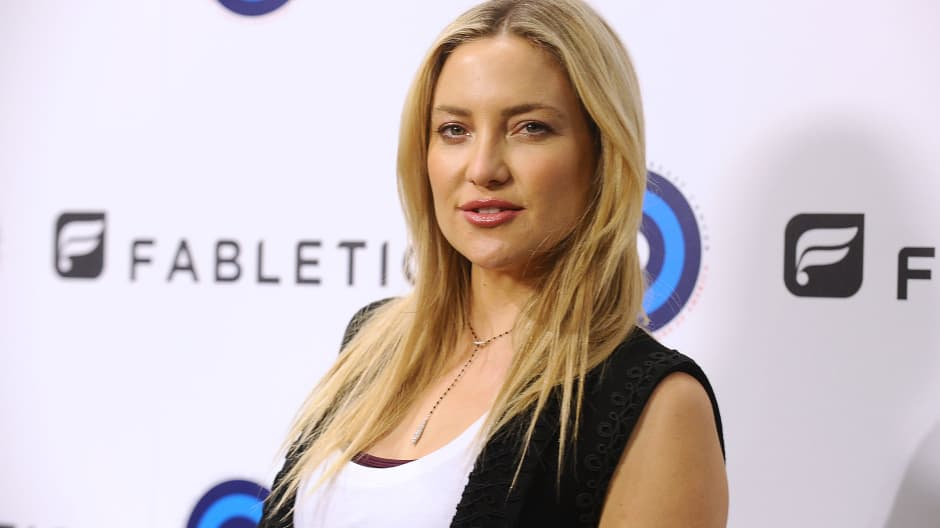 Actress Kate Hudson attends the CFDA and Fabletics event on October 11, 2016 in Los Angeles, California.