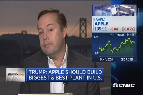 Calacanis: Tim Cook not likely to make Trump Tower pilgrimage