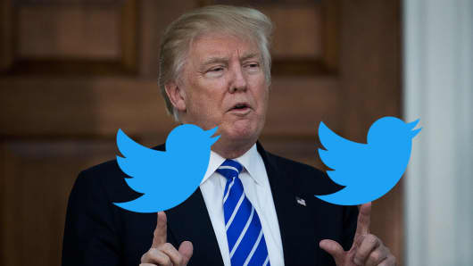 Donald Trump, Tweeter-in-Chief