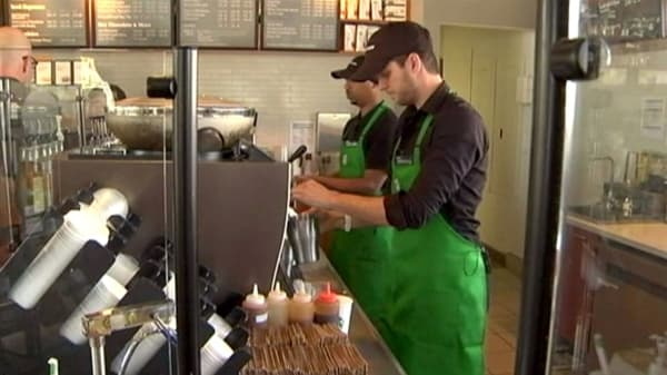 Starbucks luring millennials with $10 coffee
