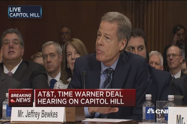Bewkes: Deal would not give us financial leverage