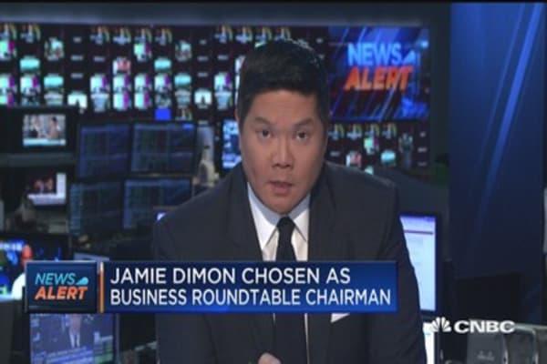 Jamie Dimon chosen as Business Roundtable chairman