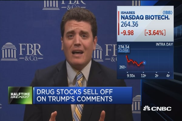Meekins: Don't read much into Trump drug pricing comments