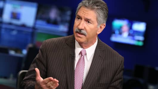 Mario Longhi, CEO of US Steel.