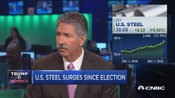 U.S. Steel CEO: All we've been looking for is fairness