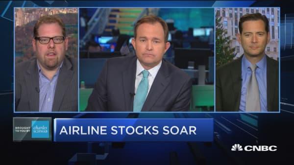 Trading Nation: Airline stocks soar