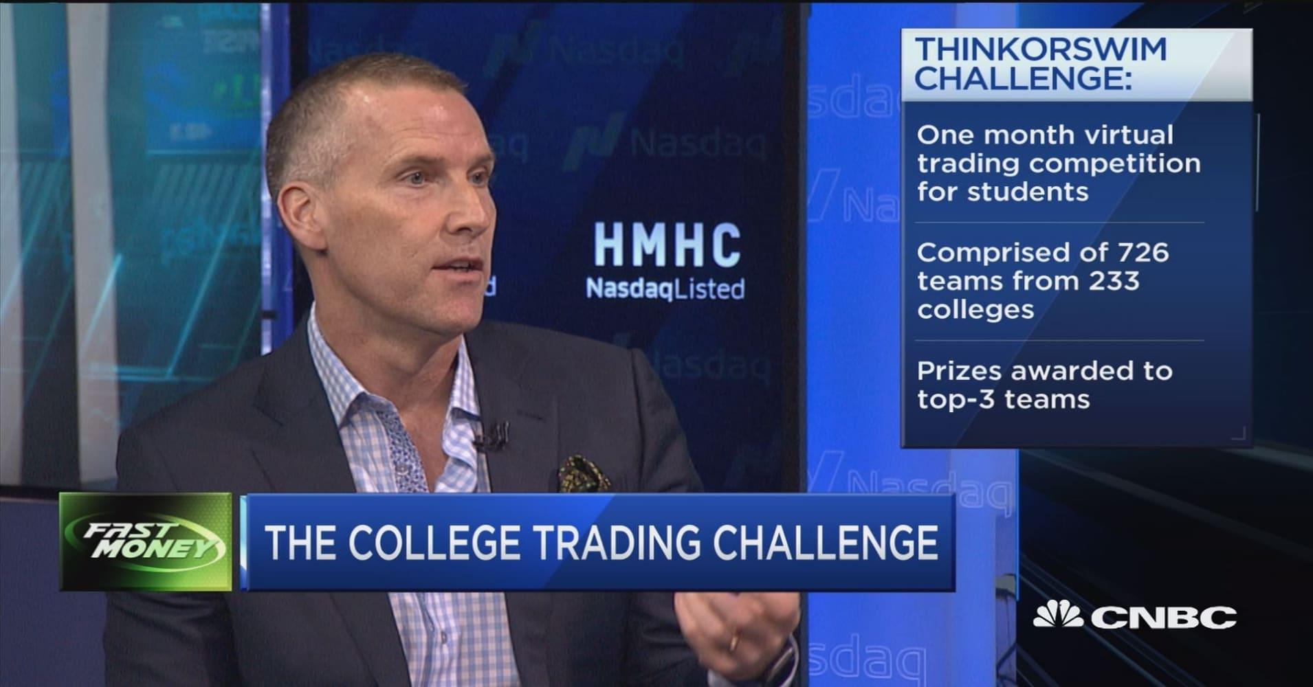 TD Ameritrade's college trading challenge winners