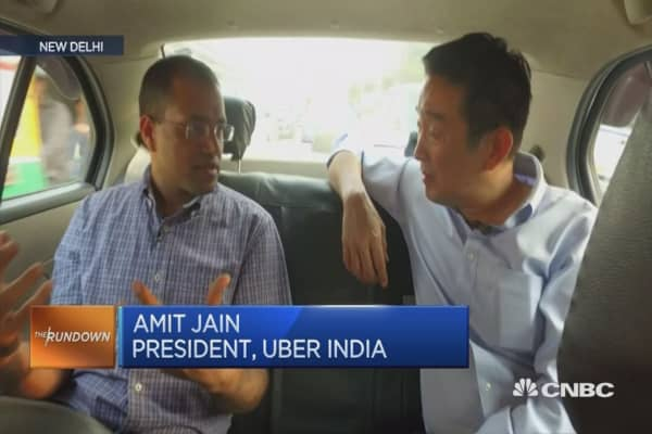 India is Uber's second biggest market