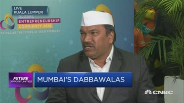 Mumbai's dabbawala lunch delivery empire