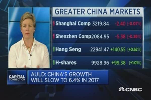 China growth is slowly decreasing: Economist
