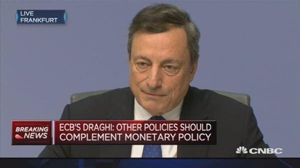 QE decision remains flexible: Draghi