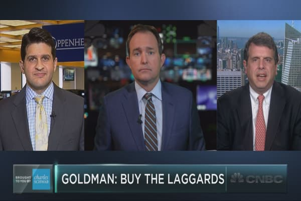 Buy the laggards, advises Goldman's options research team