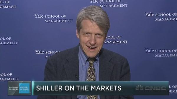Robert Shiller talks stocks, real estate, and Trump