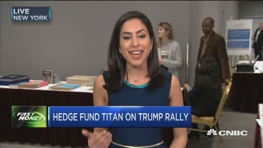 Hedge fund titan Marc Lasry on Trump Rally
