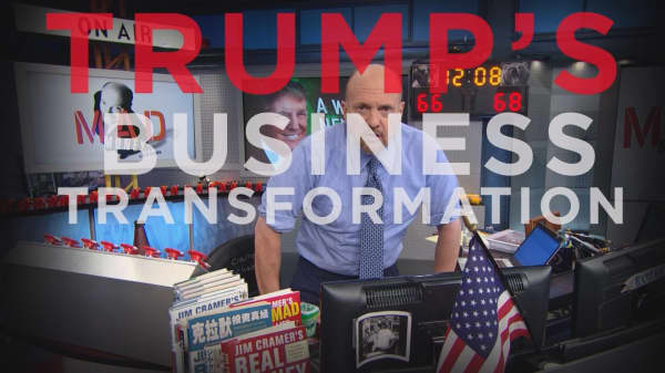 Cramer Remix: Trump just changed the business world forever