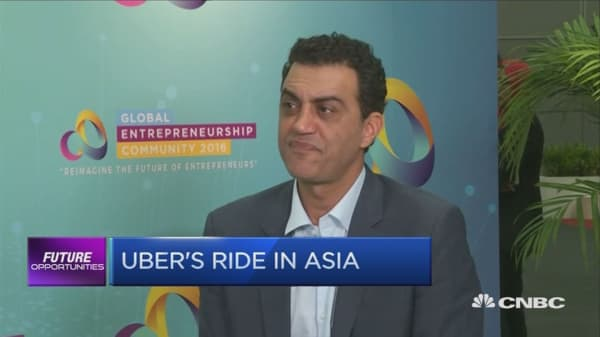 Uber's strategy in asia