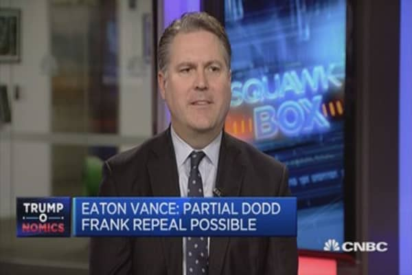 Broad support for improving US infrastructure: Eaton Vance