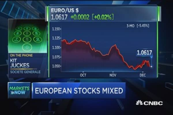 Draghi's taper a one-off move: pro