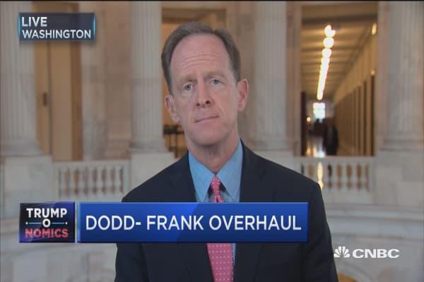 Sen. Toomey: Dodd-Frank is a disaster