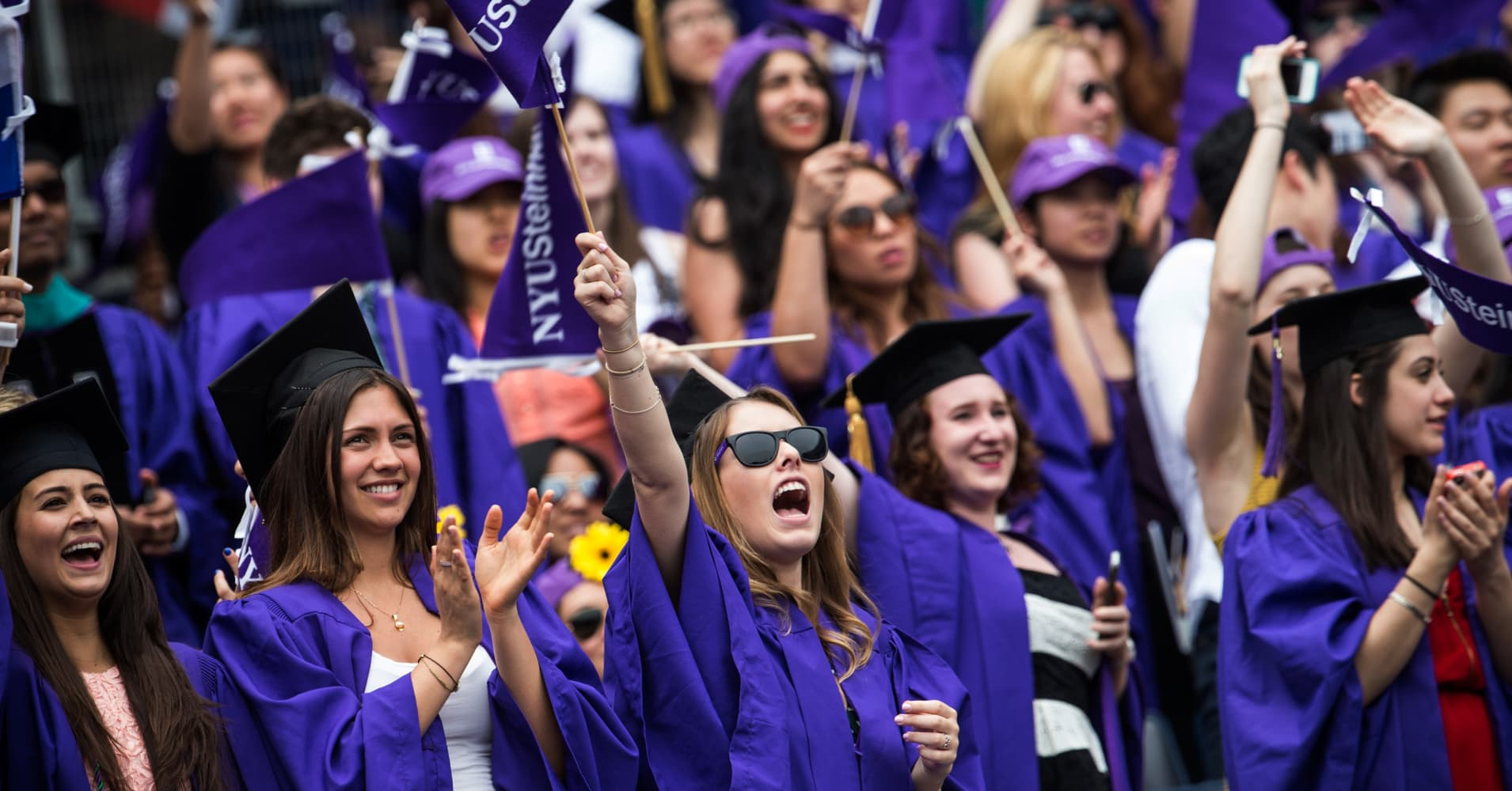NYU's Stern School of Business cracked the top 10 best undergraduate business programs
