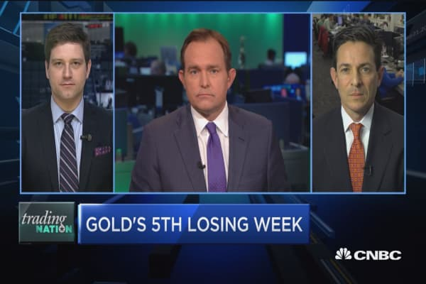 Trading Nation: Gold's 5th losing week