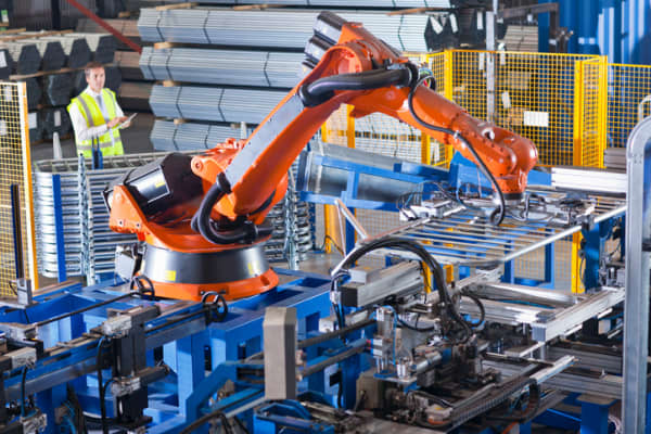 Automation is replacing human jobs.