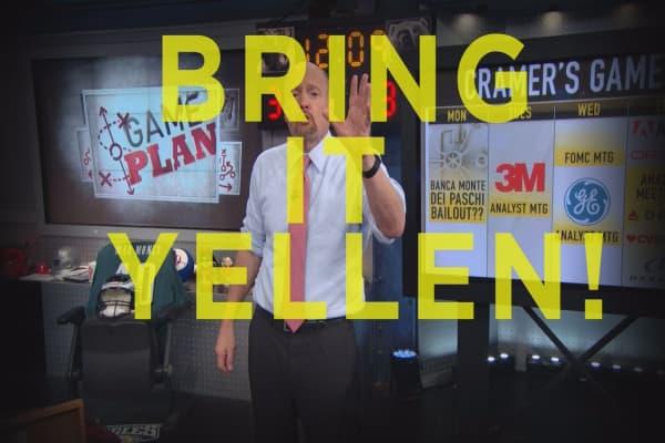 Cramer Remix: Bring on the rate hike Yellen, I'm ready!