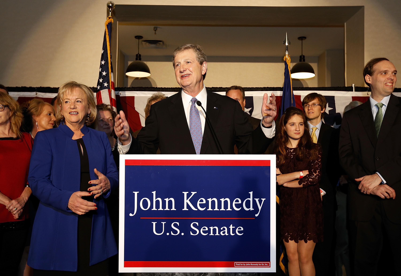 republican john kennedy wins louisiana senate race in runoff election