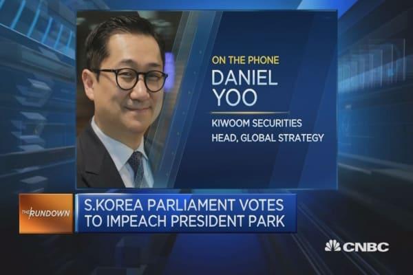 Korean public is for Park's impeachment: Expert