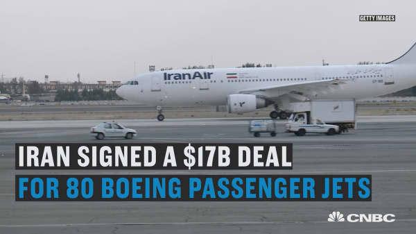 Iran seals $17 billion Boeing deal