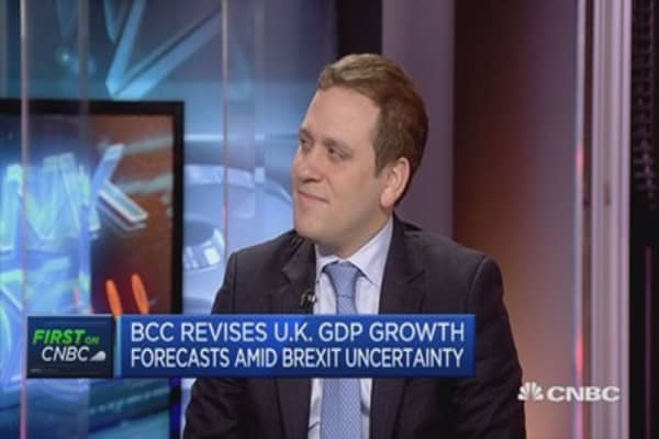 UK vulnerable to rapid changes in economic conditions: BCC