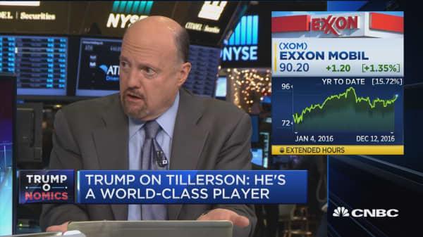 Cramer on Tillerson: An undoing of the State Department