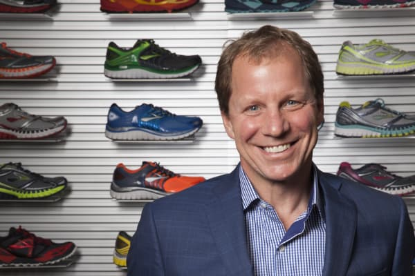 Jim Weber, CEO of Brooks Running