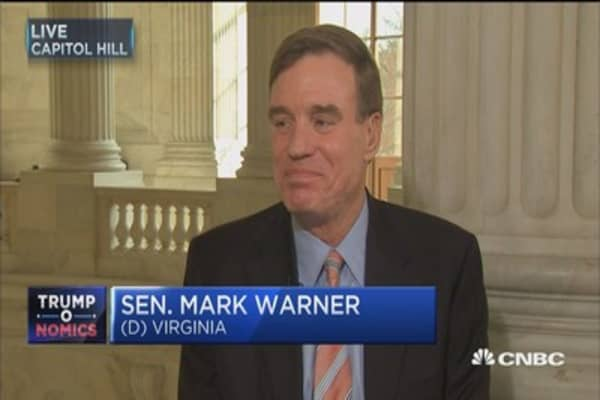 Disappointed in Trump response to Russia intelligence: Sen. Warner