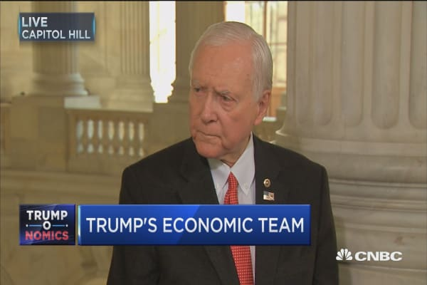 Sen. Hatch: Our tax situation is 'stupid'